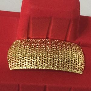 Accessories - Gold Metal Hair Barrette